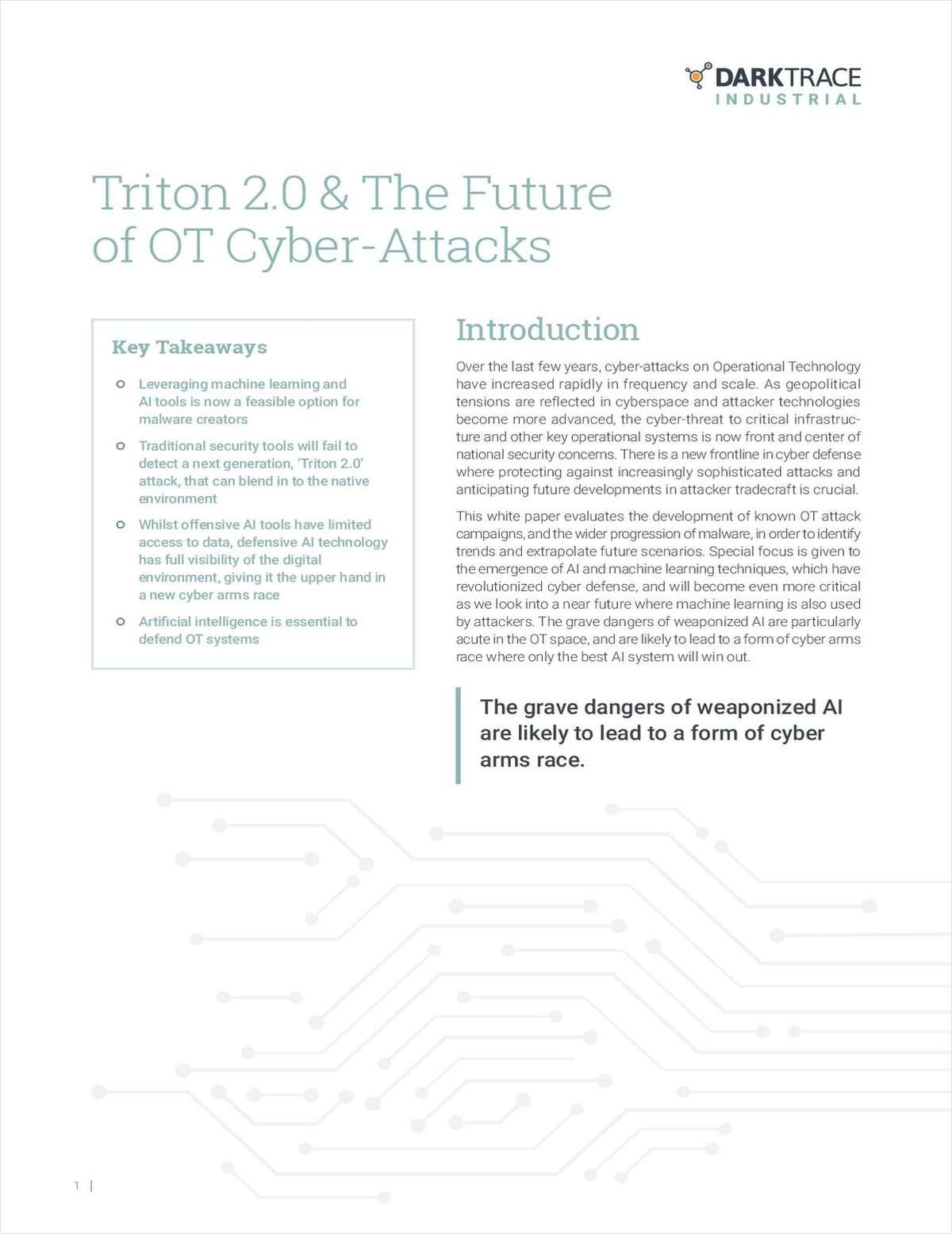 Triton 2.0 & The Future of OT Cyber-Attacks