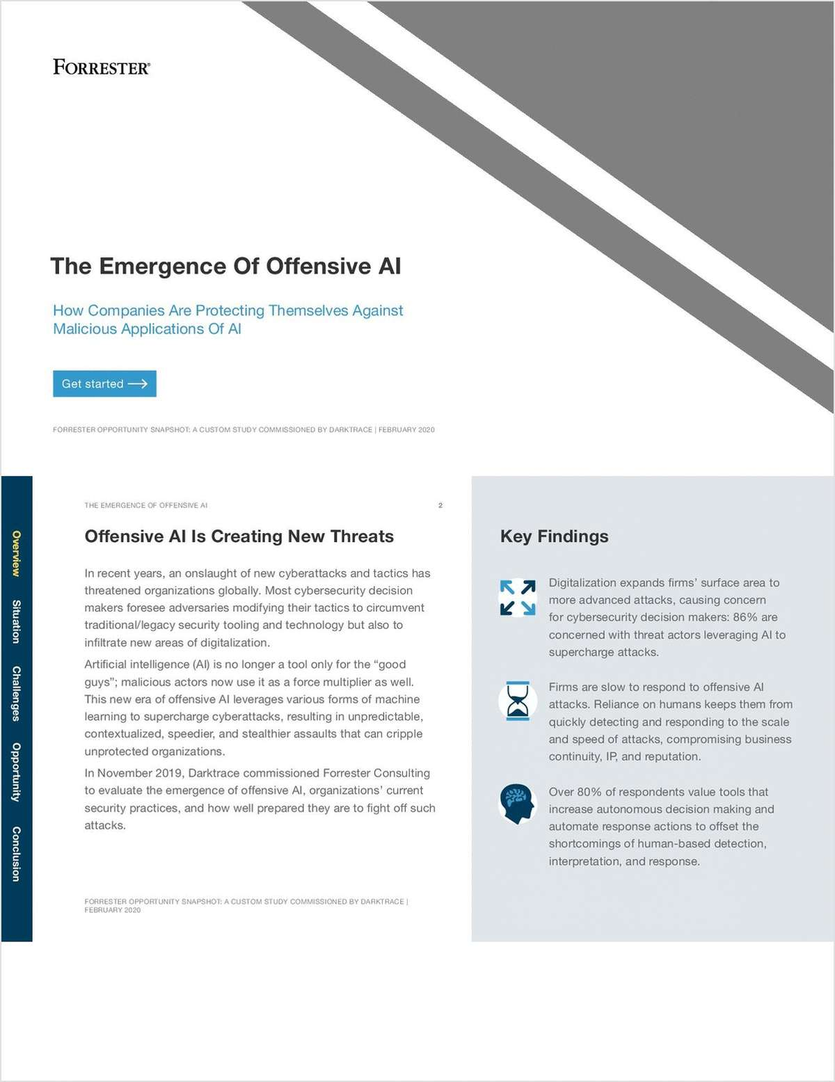 The Forrester Threat Report: The Emergence of Offensive AI