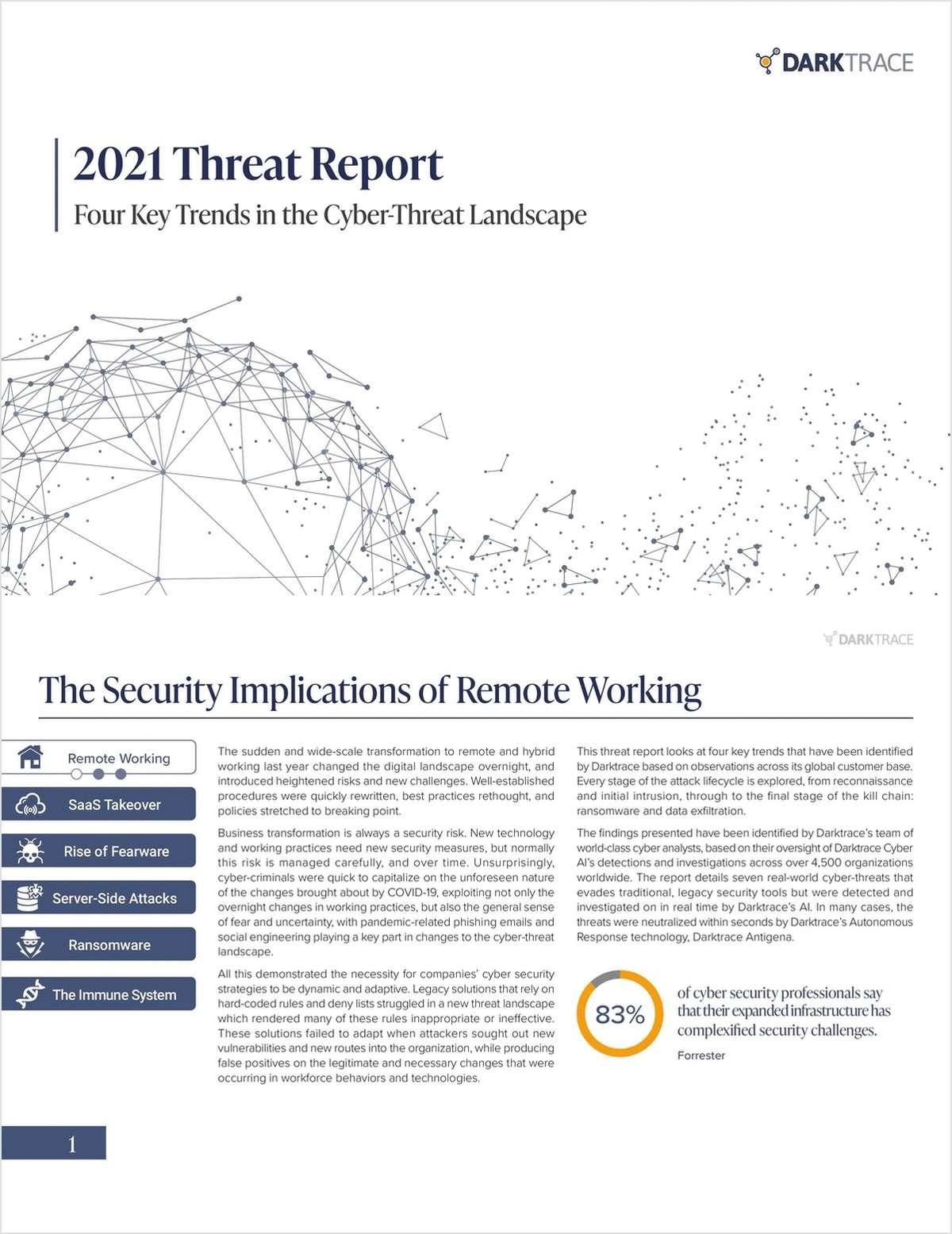 Four Key Trends in the Cyber-Threat Landscape: A 2021 Threat Report