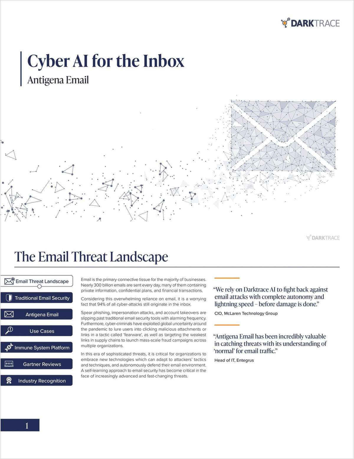 The Cyber AI for the Inbox