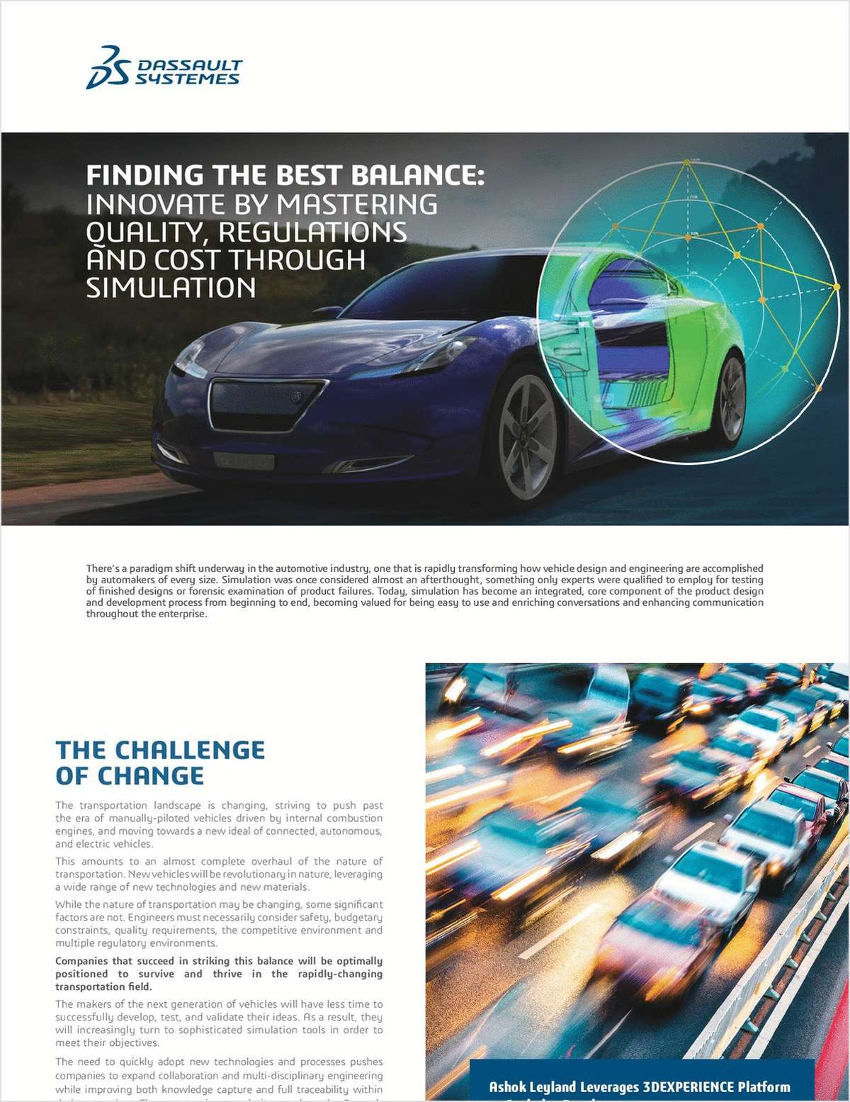 Finding the Best Balance: Innovate by Mastering Quality, Regulations and Cost Through Simulation