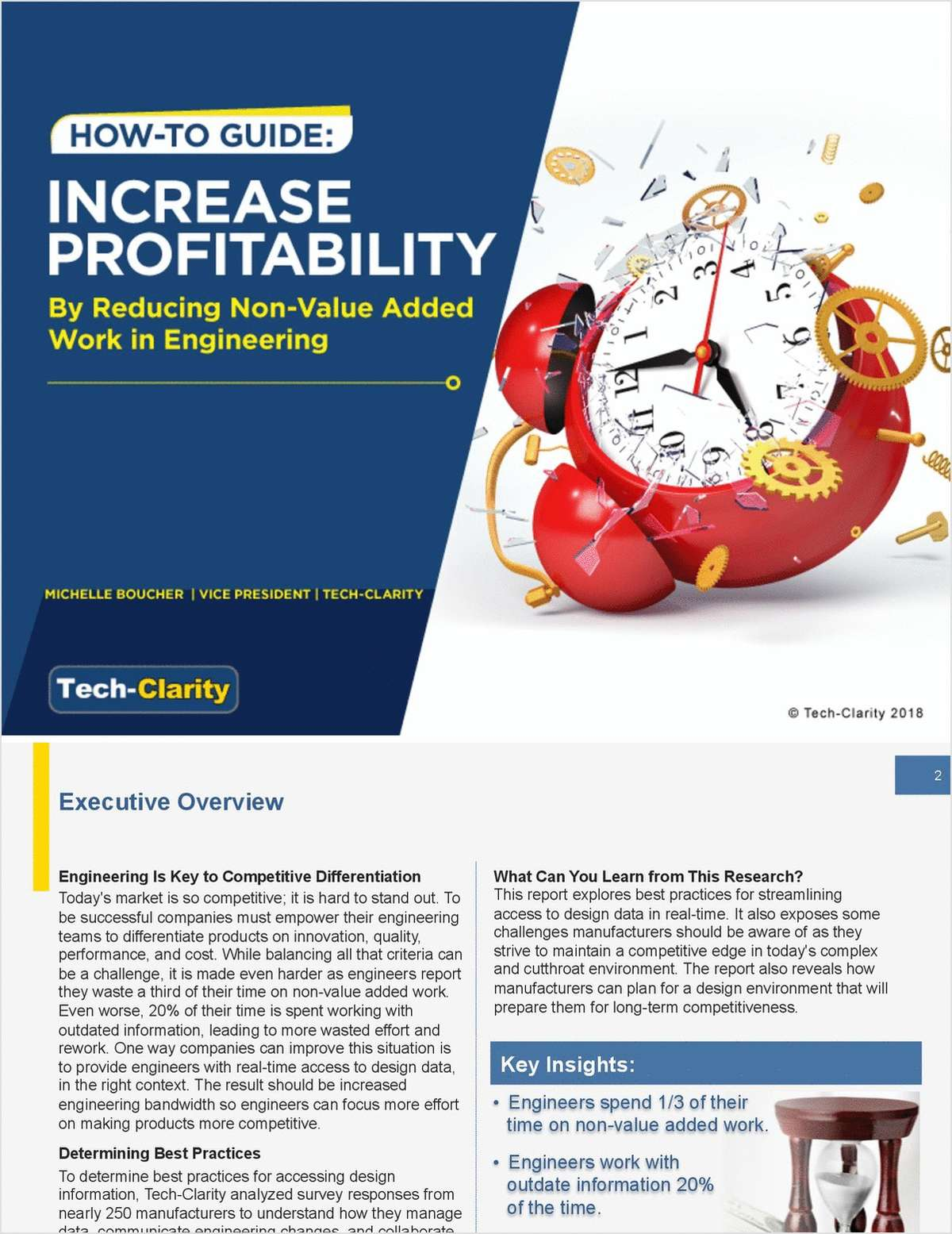 How-to Guide: Increase Profitability by Reducing Non-Value Added Work in Engineering