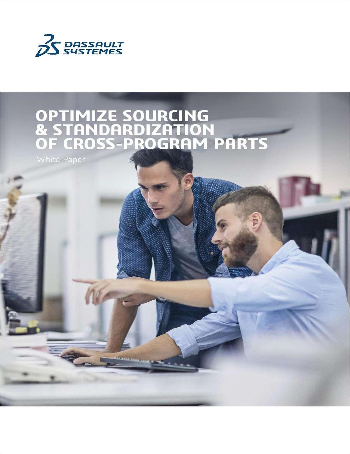 Optimize Sourcing & Standardization of Cross-Program Parts