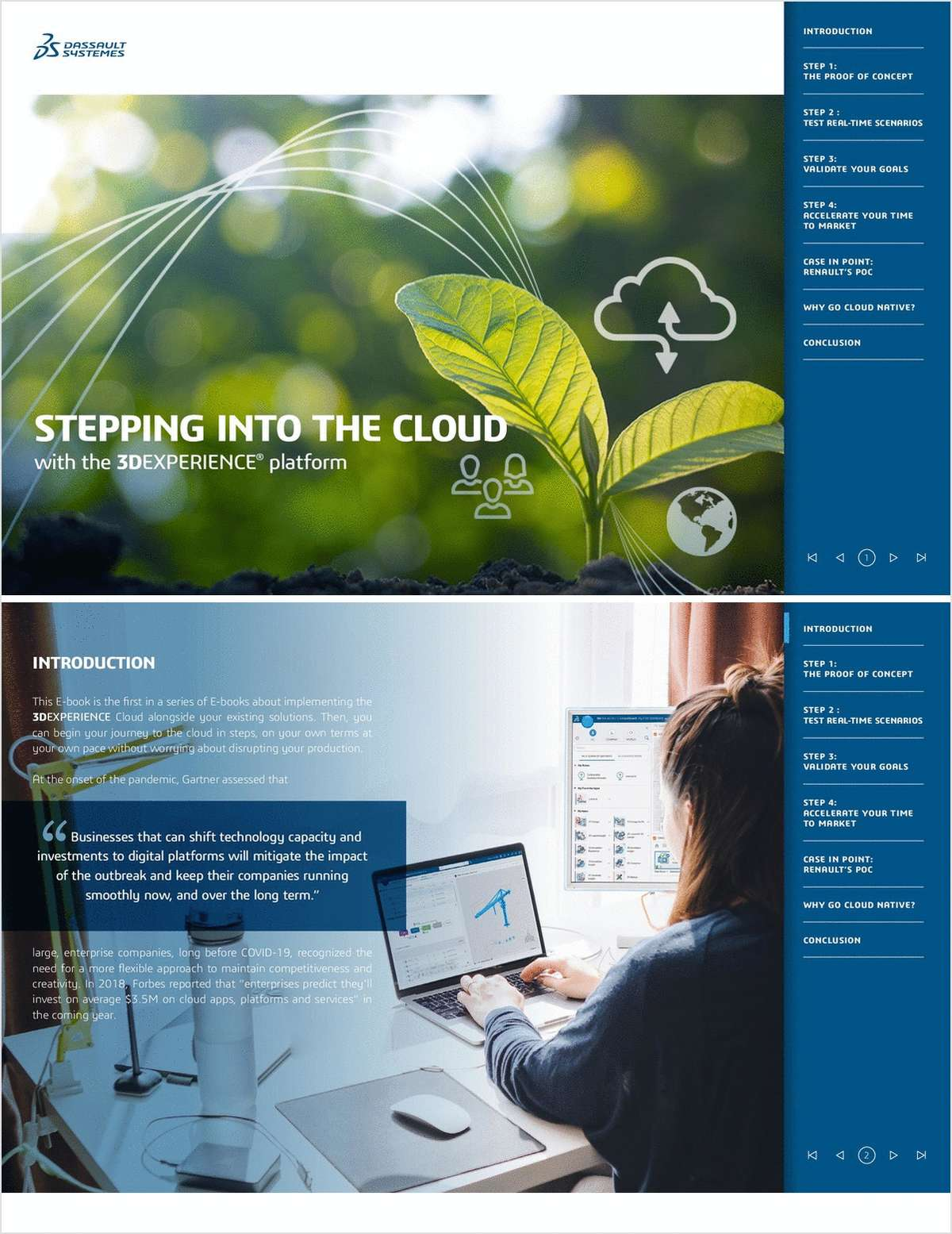 Stepping Into the Cloud with the 3DExperience Platform