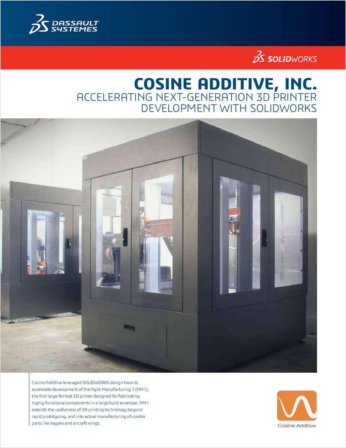 3D Design Advances 3D Printing