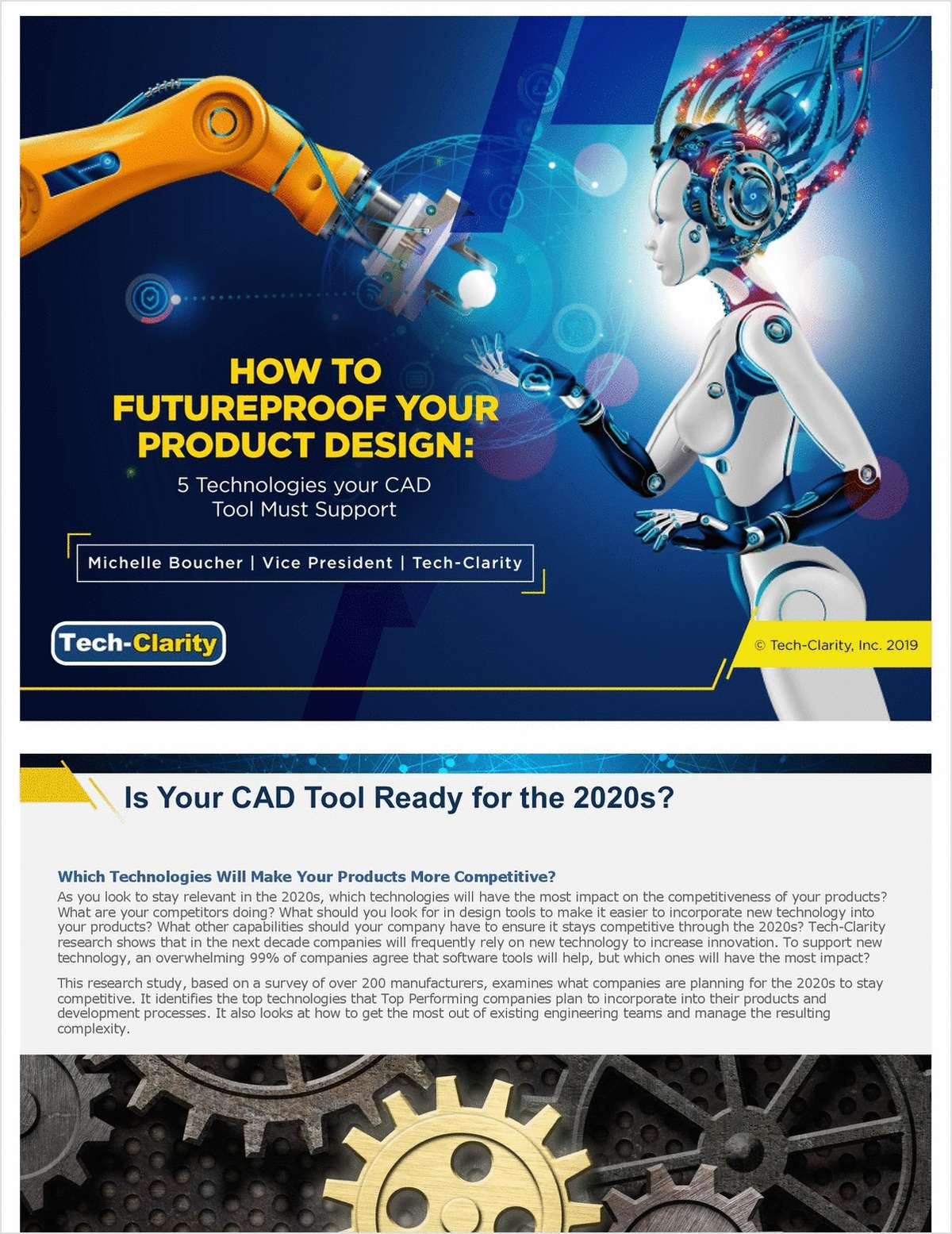 How to Futureproof Your Product Design: 5 Technologies your CAD Tool Must Support