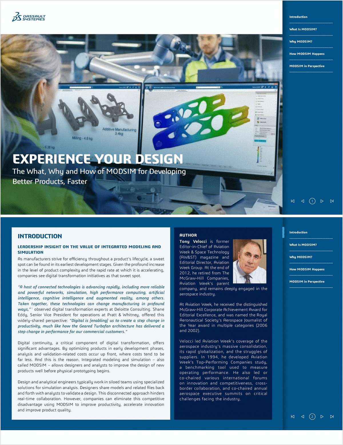 Experience Your Design: The What, Why and How of MODSIM for Developing Better Products, Faster