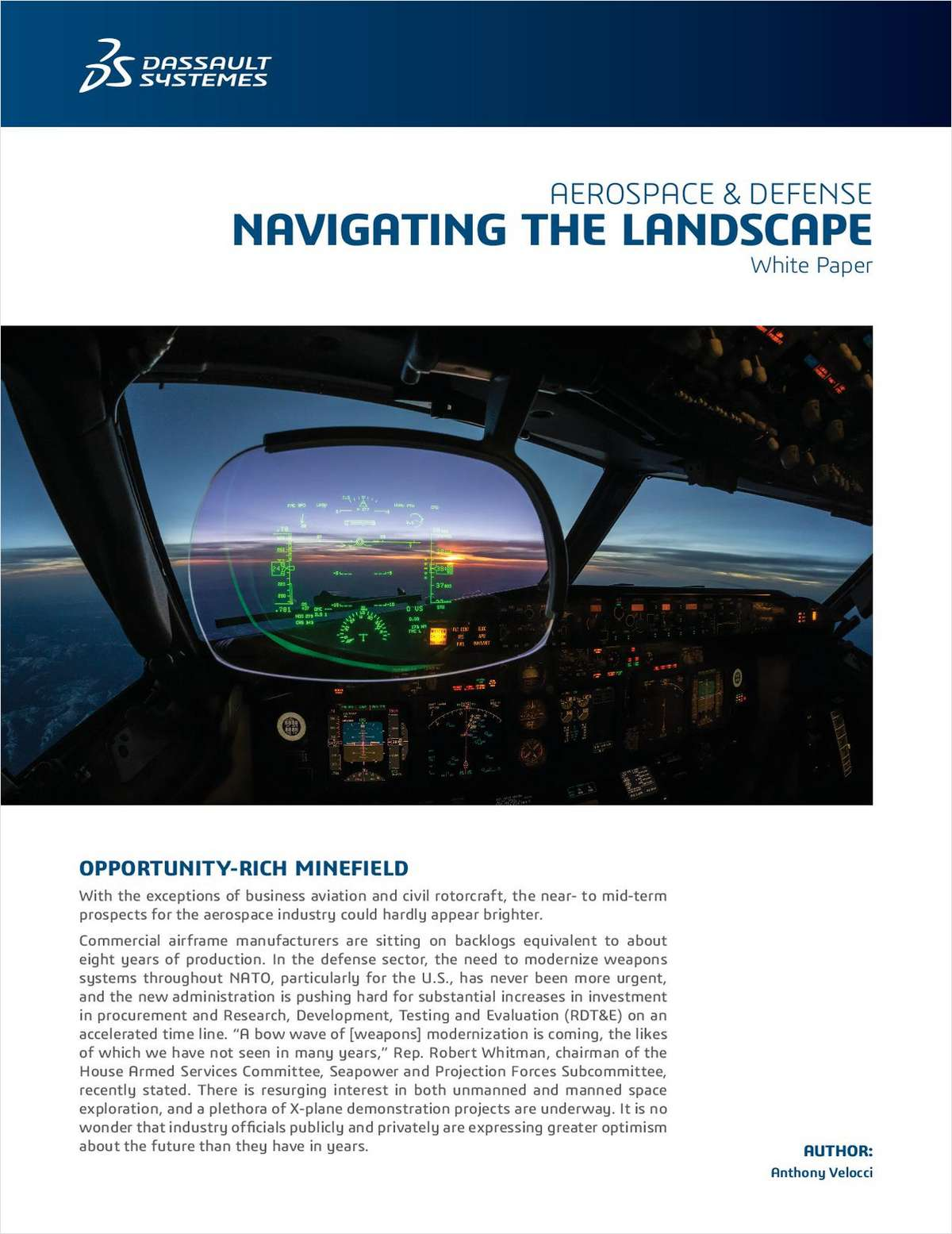 Aerospace & Defense - Navigating the Landscape