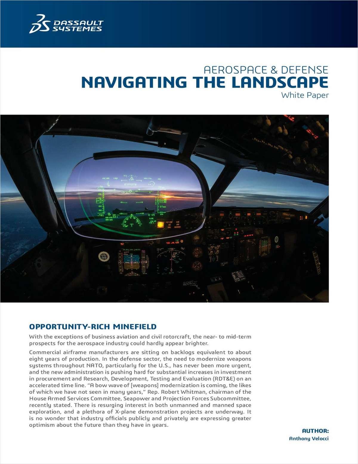Aerospace & Defense White Paper: Navigating the Landscape
