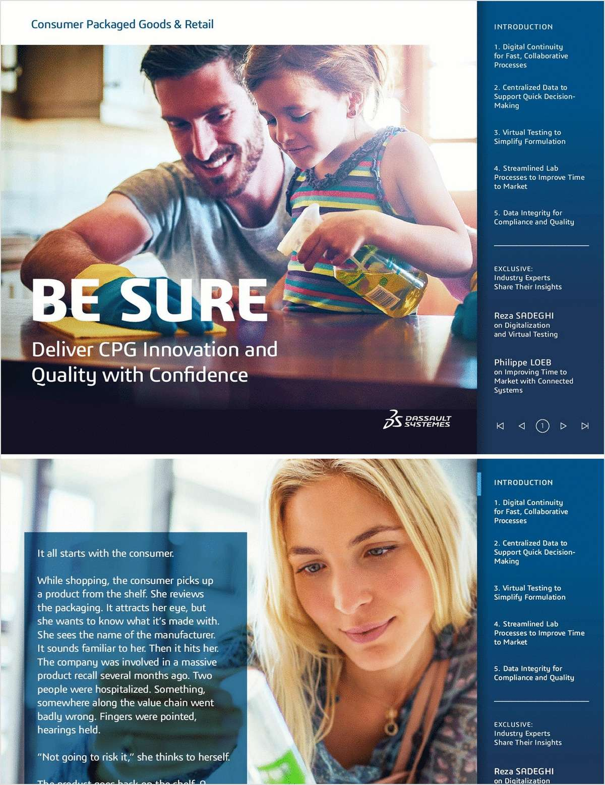 Be Sure: Deliver CPG Innovation and Quality With Confidence