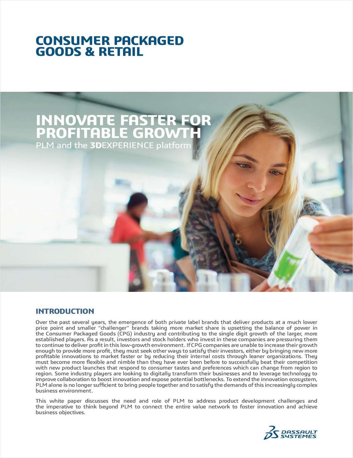 Innovate Faster For Profitable Growth - PLM and the 3DEXPERIENCE Platform