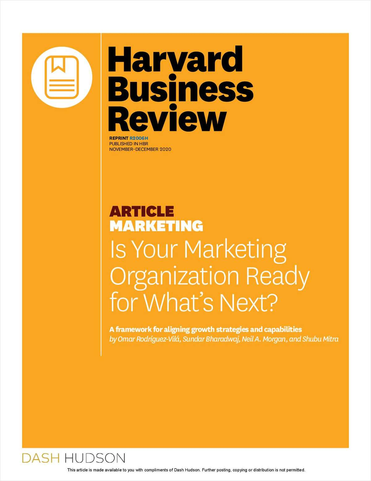 Is Your Marketing Organization Ready for What's Next?