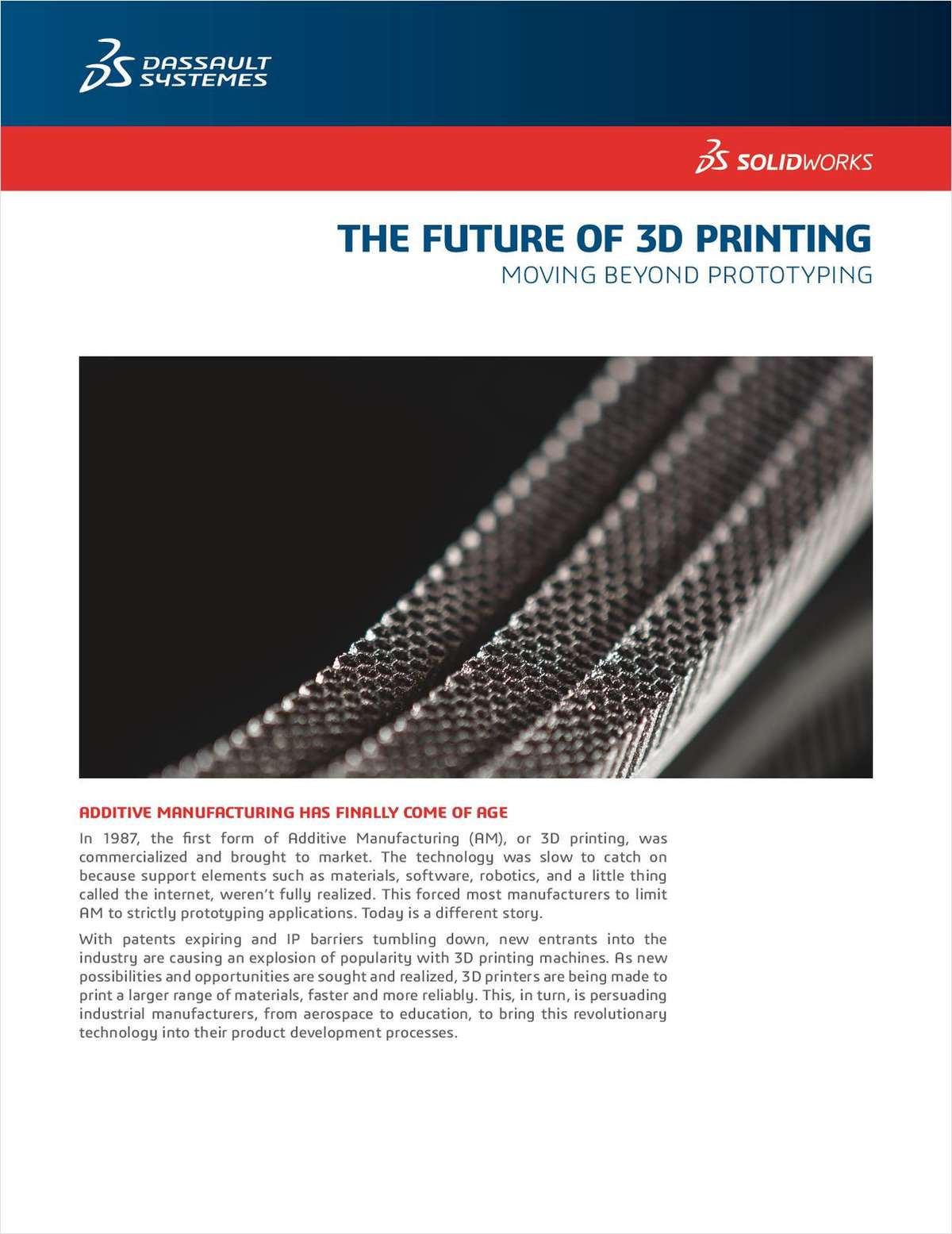 Rethink Traditional Manufacturing with 3D Printing