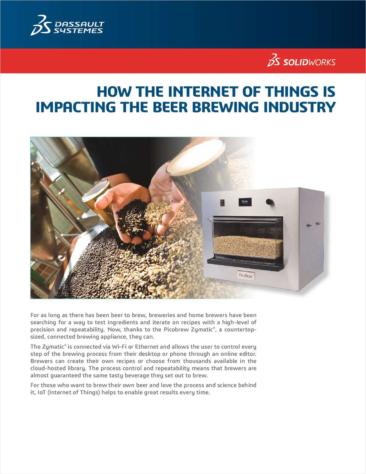 Beer Brewing Gets Smart with the Internet of Things