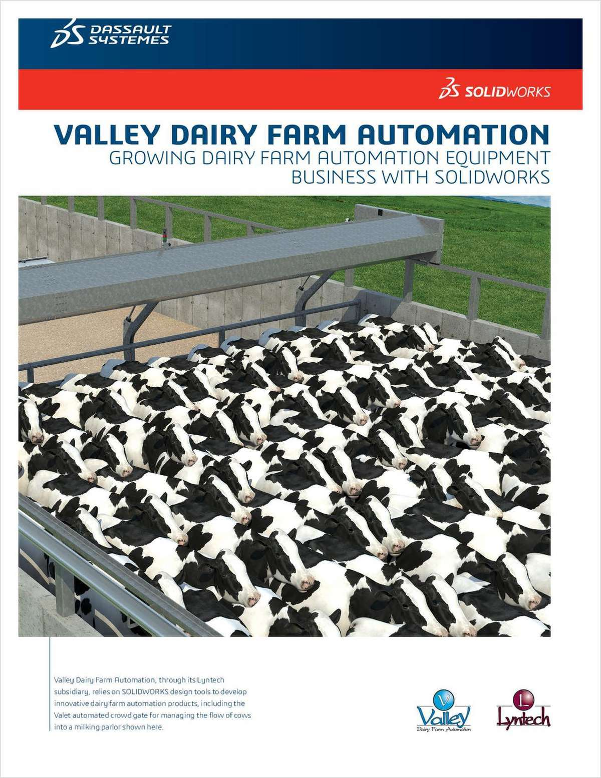 SOLIDWORKS® Solutions for Valley Dairy Farm Automation