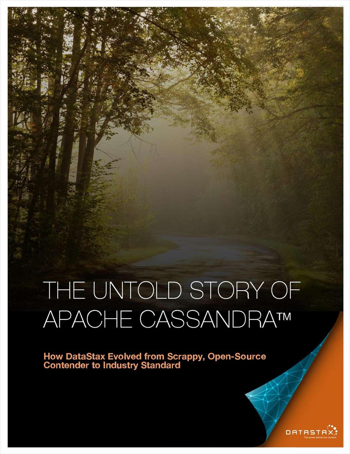 The Untold Story of Apache Cassandra