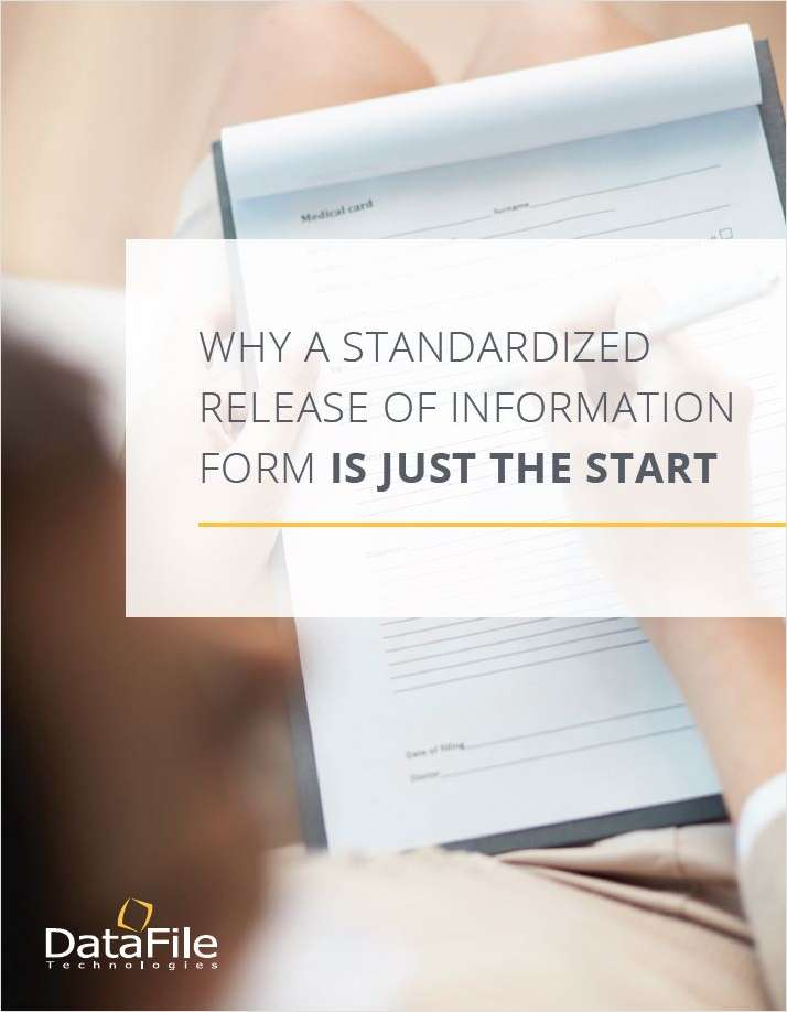 Standard ROI Form IS JUST THE START