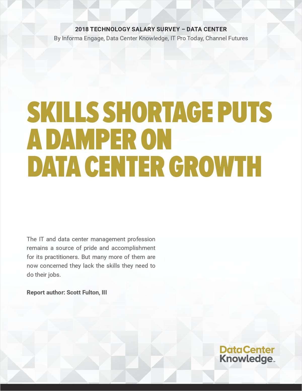 2018 Technology Salary Survey -- Data Center