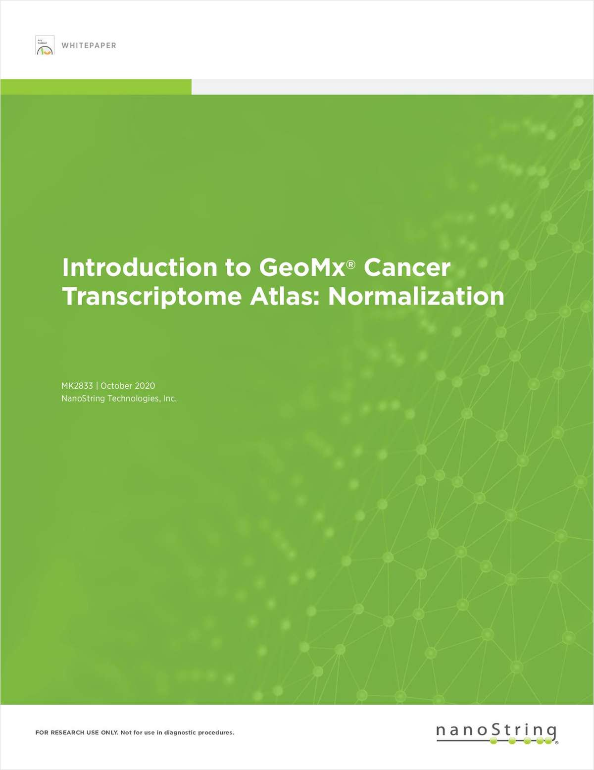 Introduction to GeoMx Cancer Transcriptome Atlas: Normalization