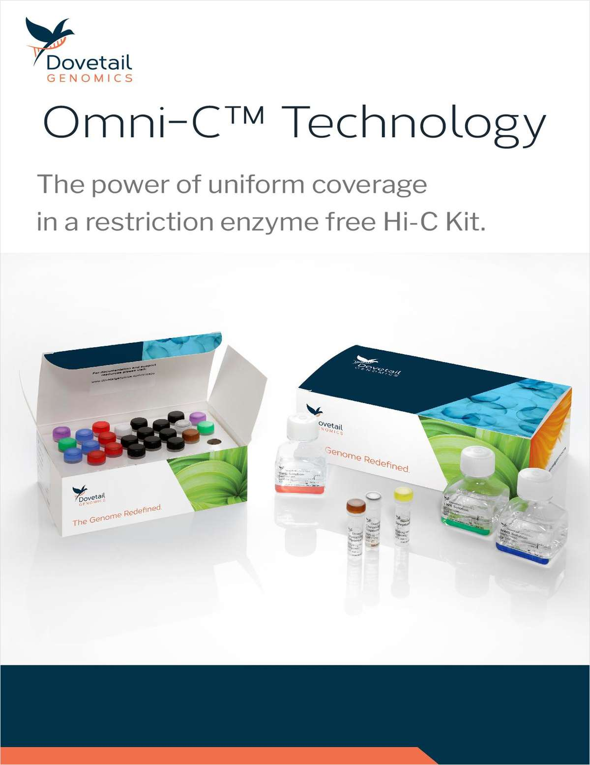 Omni-C Technology: The Power of Uniform Coverage in a Restriction Enzyme Free Hi-C Kit