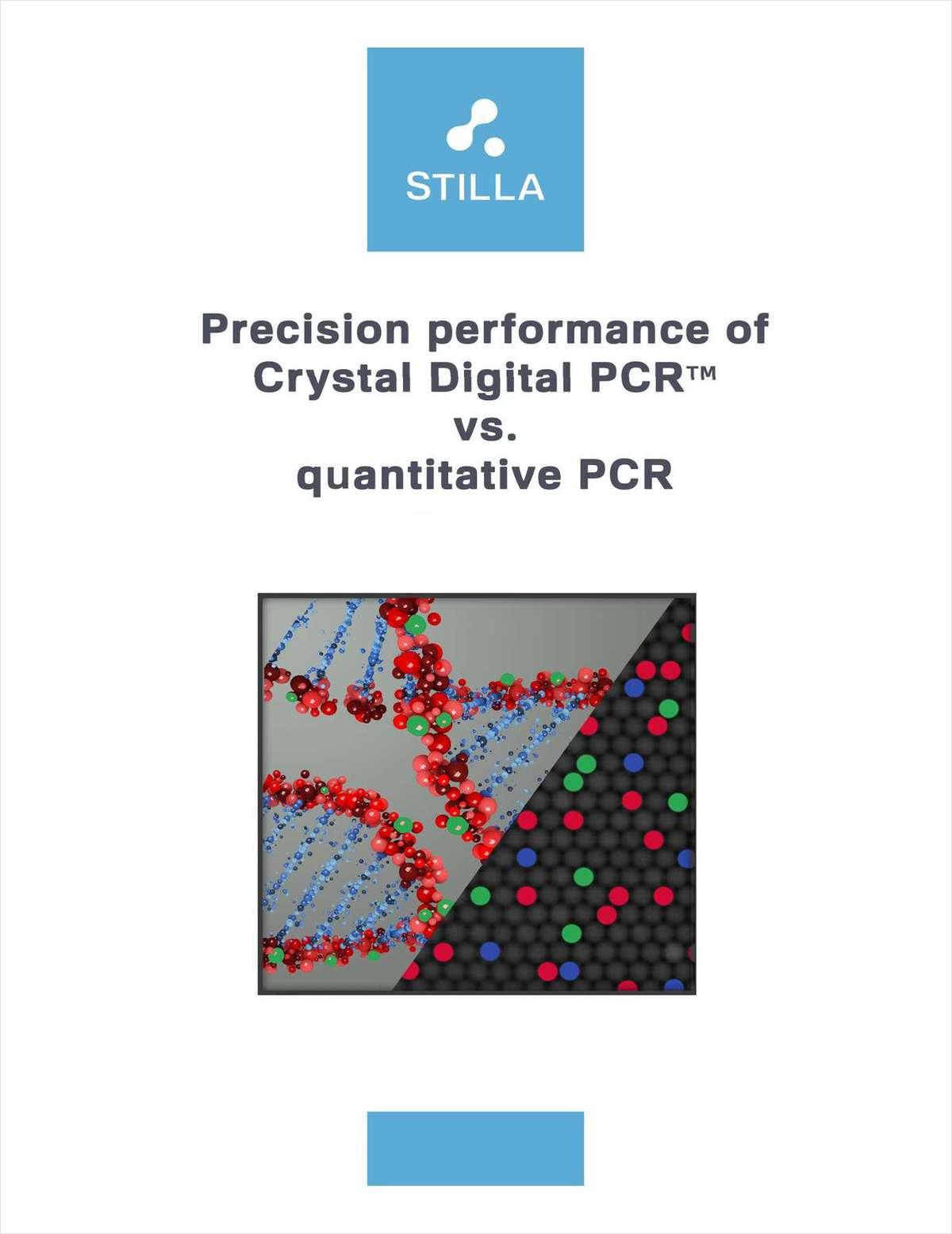 Precision Performance of Crystal Digital PCR vs. Quantitative PCR