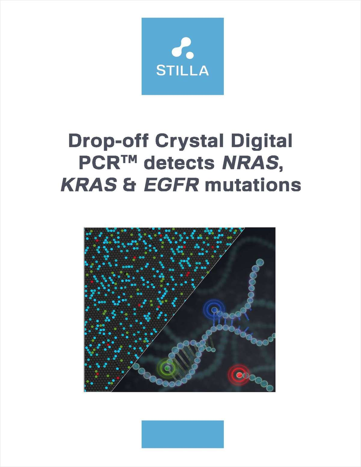 Drop-off Crystal Digital PCR for NRAS, KRAS, & EGFR Mutations