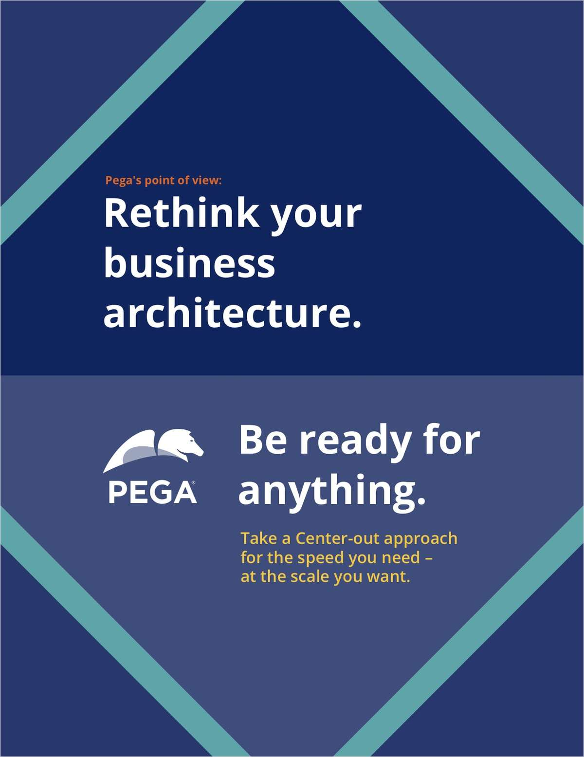 Streamline your architecture. Automate your way to what's next.