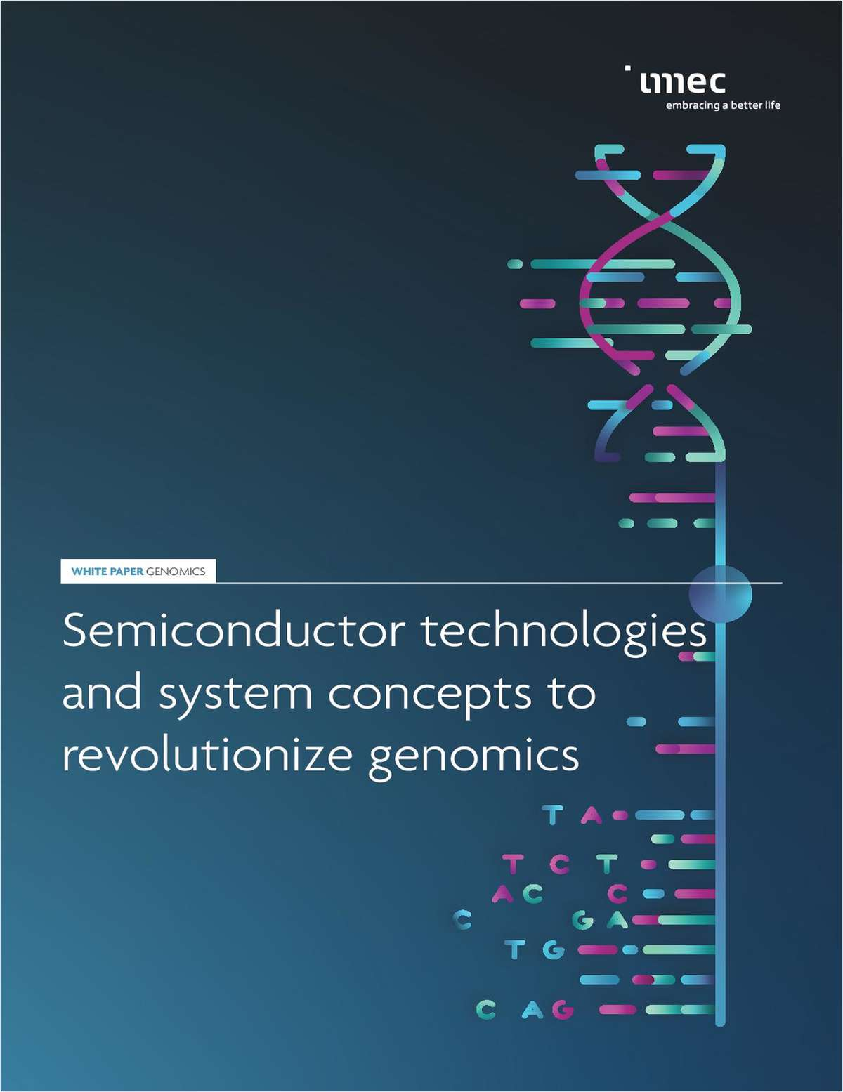 Semiconductor Technologies and System Concepts to Revolutionize Genomics