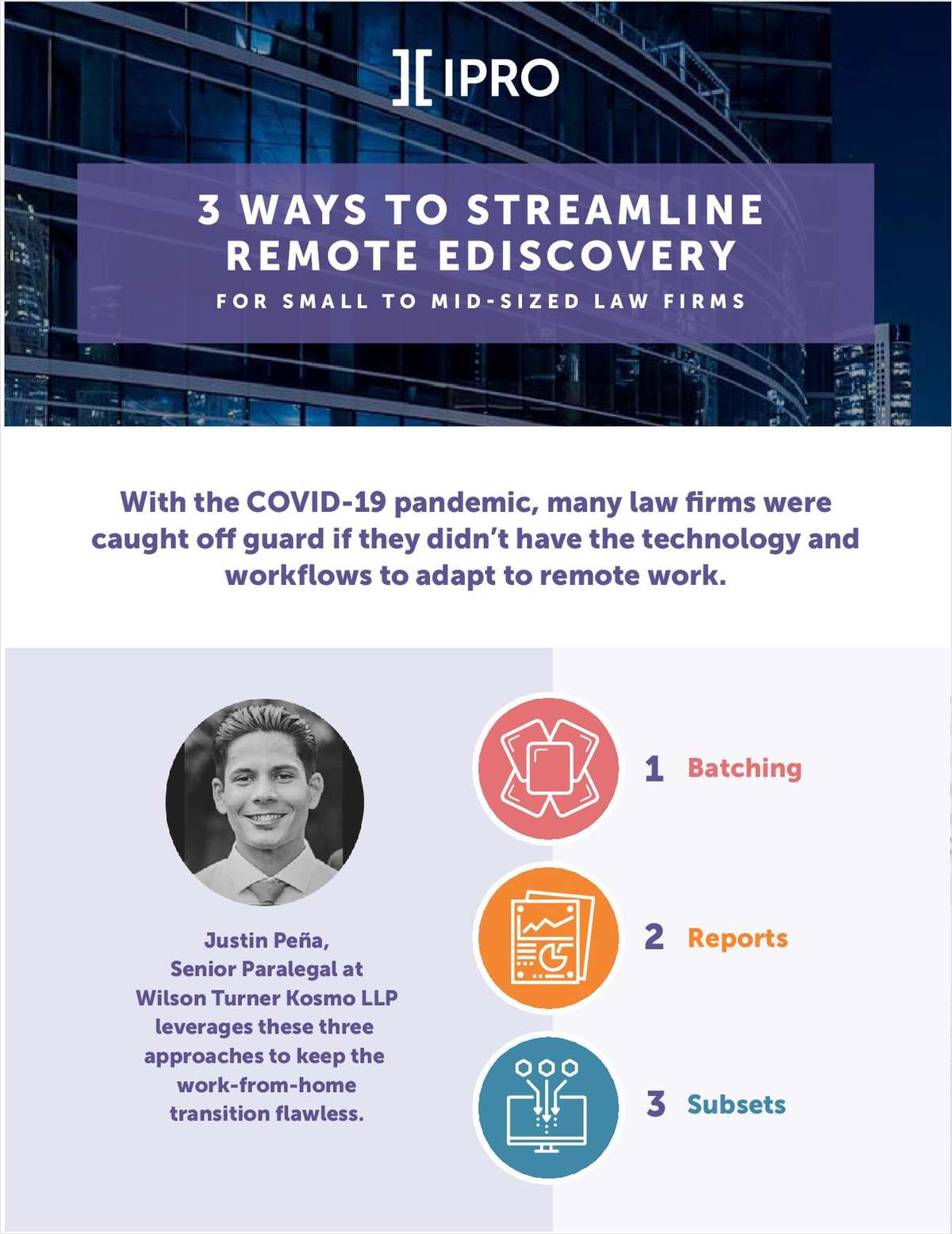 3 Ways to Streamline Remote eDiscovery: For Small to Mid-Sized Law Firms