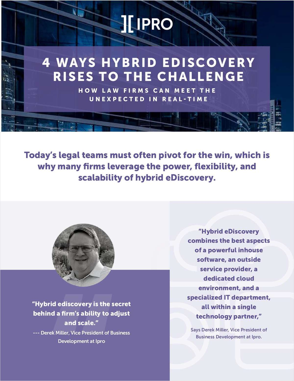 4 Ways Hybrid eDiscovery Rises to the Challenge