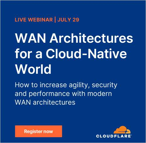 Wan Architectures for a Cloud-Native World