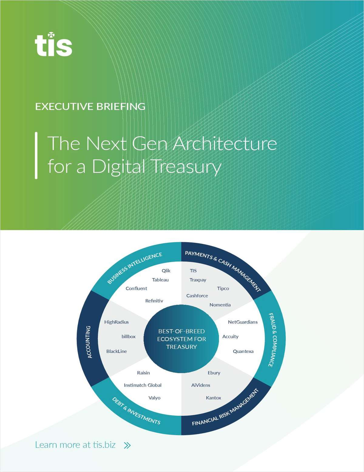 Next Gen Architecture for a Digital Treasury: Enabling Flexibility and Automation