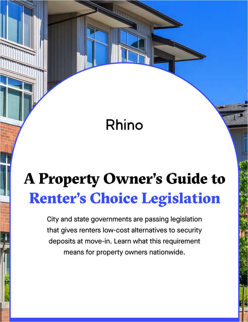 A Property Owner's Guide to Renter's Choice Legislation