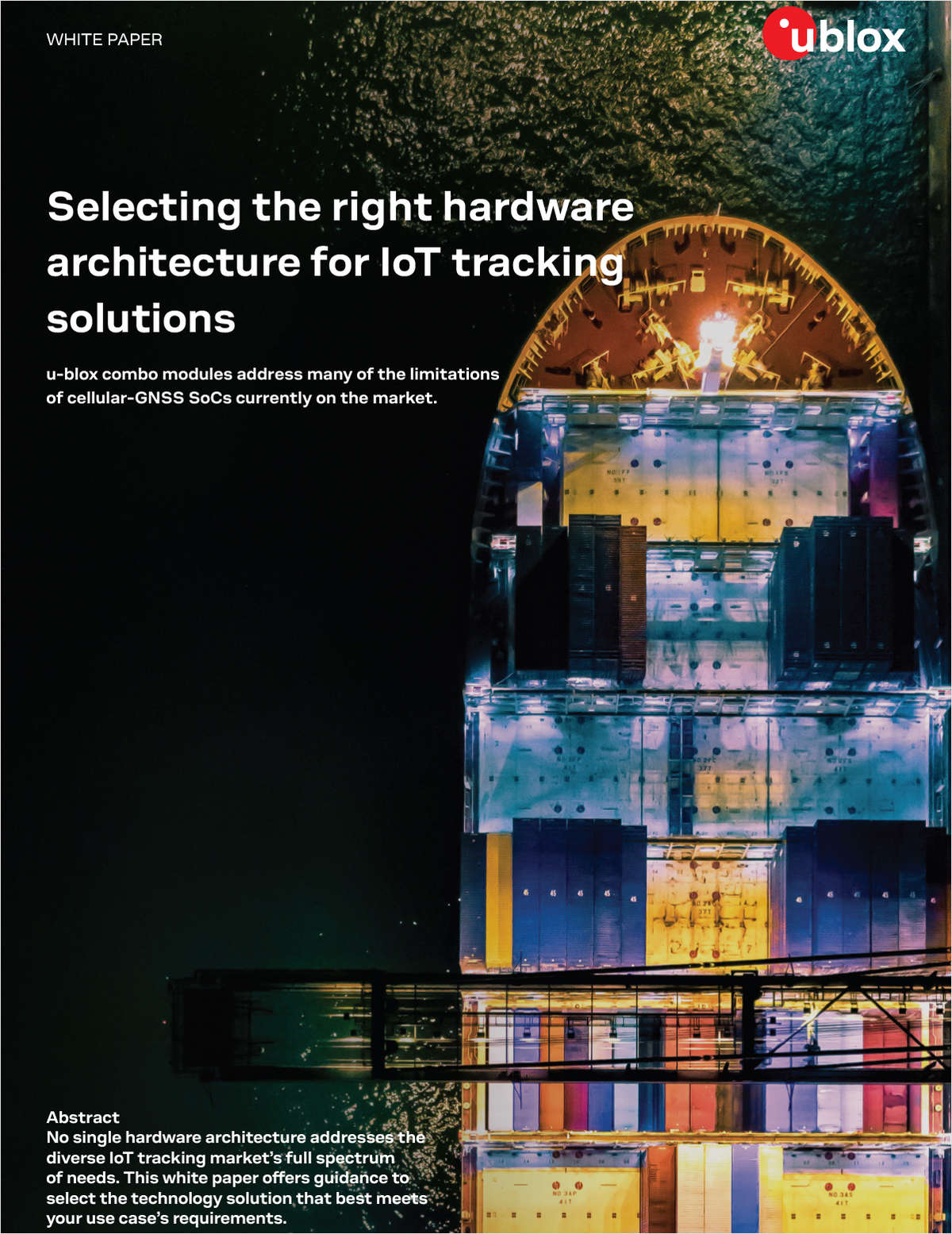 Selecting the right hardware architecture for IoT tracking solutions
