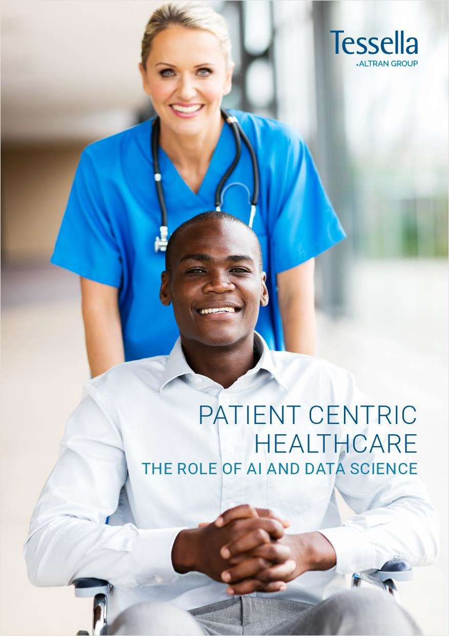Patient Centric Healthcare - The Role of AI and Data Science