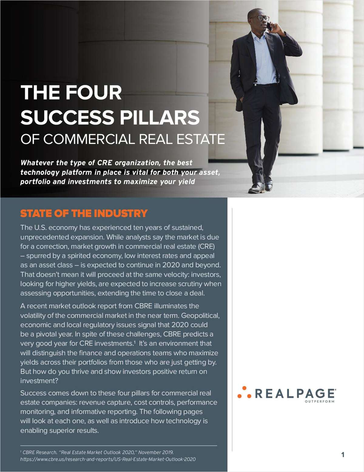 The Four Success Pillars of Commercial Real Estate