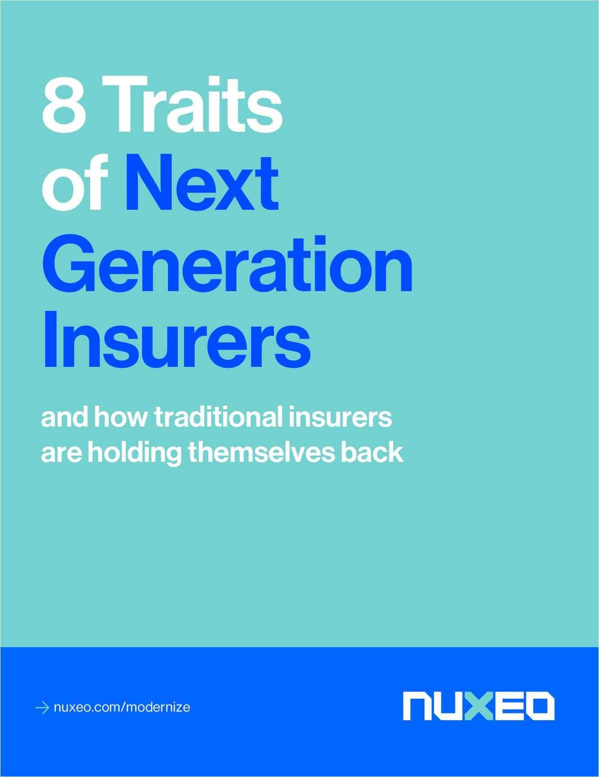 8 Traits of Next Generation Insurers