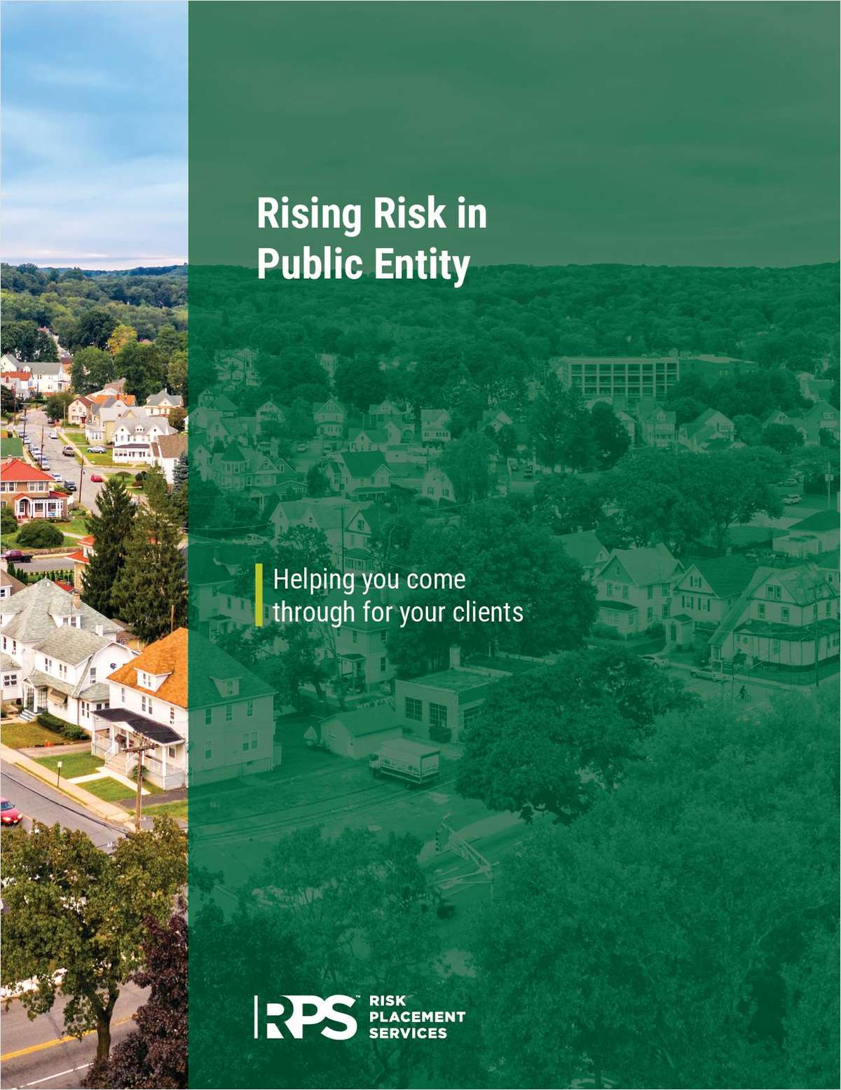 Rising Risk in Public Entity - Ensure Your Clients Are Covered