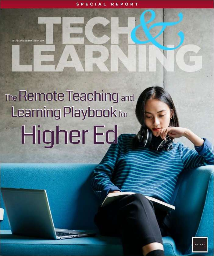 Tech & Learning University: Remote Teaching and Learning Playbook for Higher Ed