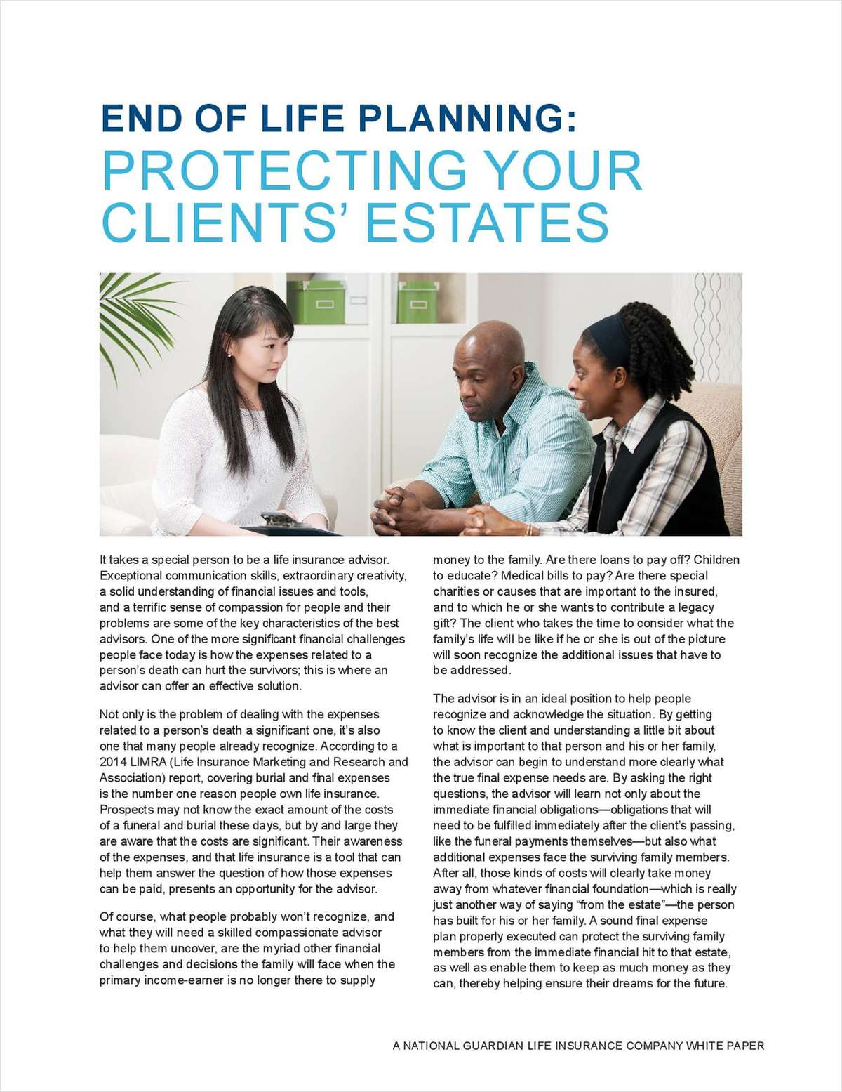 End-of-Life Planning: Protecting Your Clients' Estates