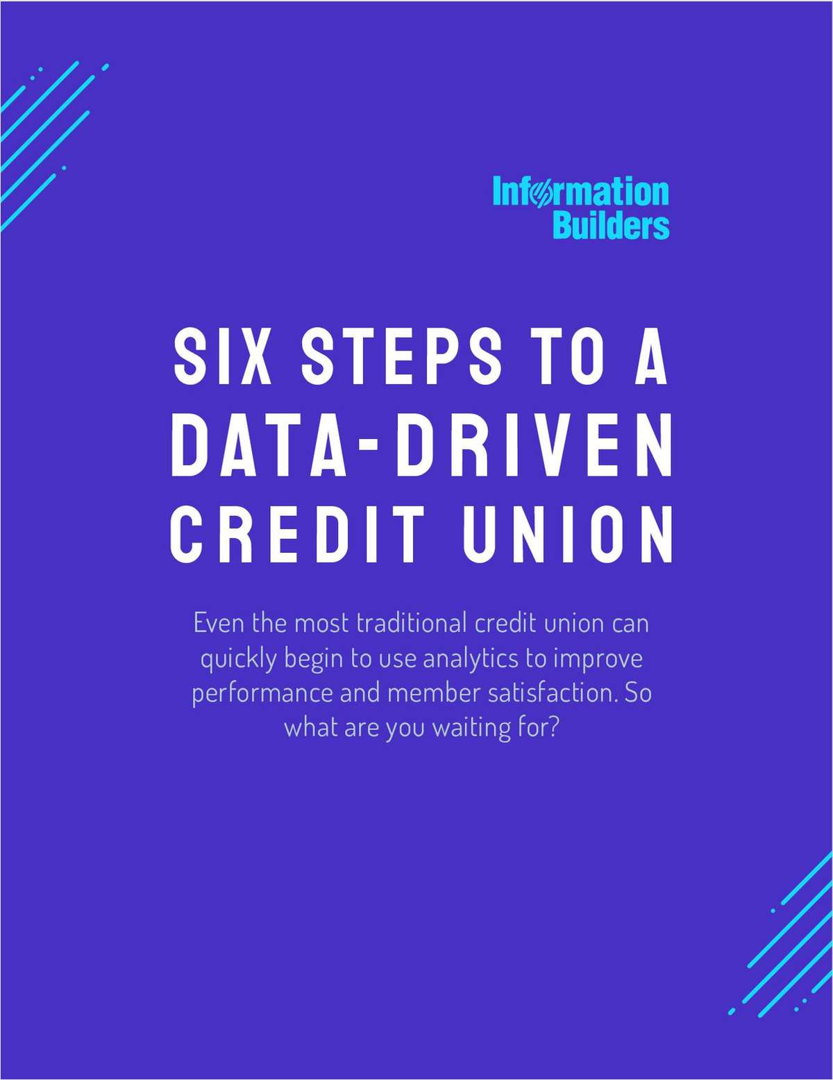 Six Steps to a Data-Driven Credit Union
