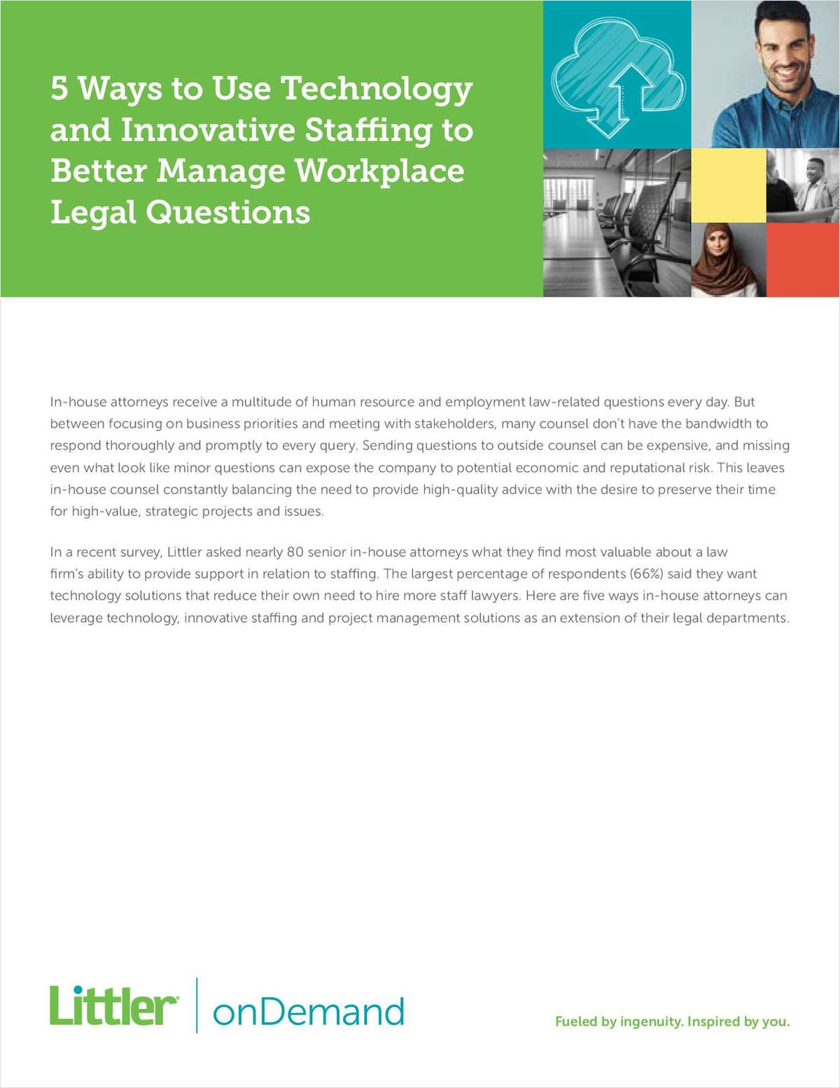 5 Ways to Use Technology and Innovative Staffing to Better Manage Workplace Legal Questions