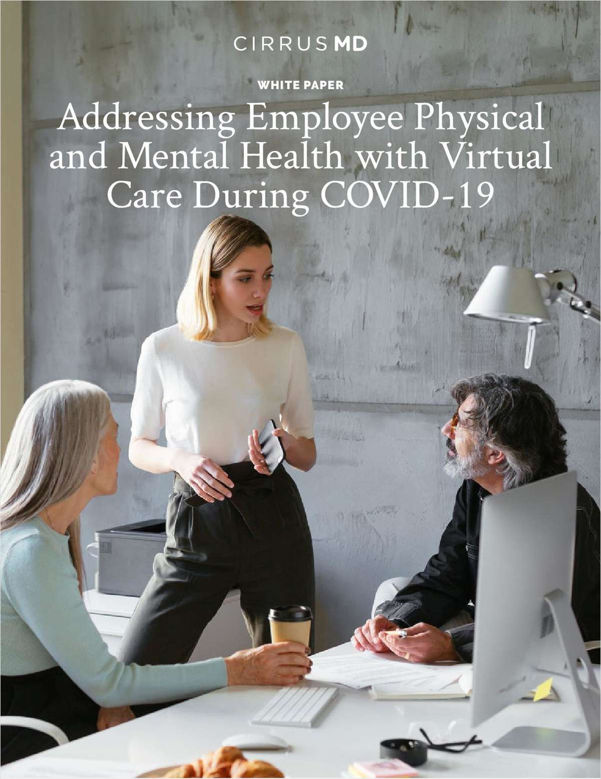 Addressing Employee Physical and Mental Health with Virtual Care During COVID-19