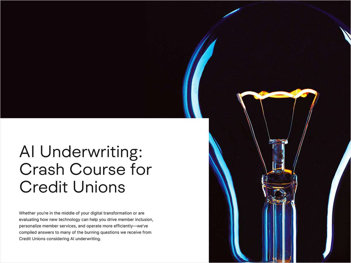 AI Underwriting: Crash Course for CUs