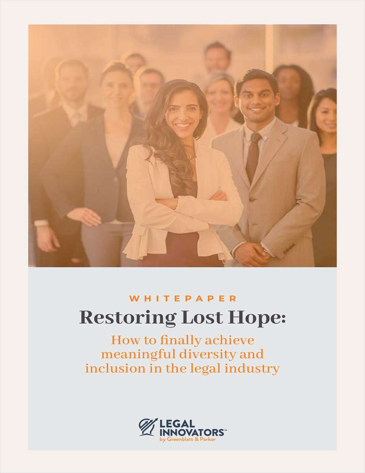 Restoring Lost Hope: How to Finally Achieve Meaningful Diversity and Inclusion in the Legal Industry