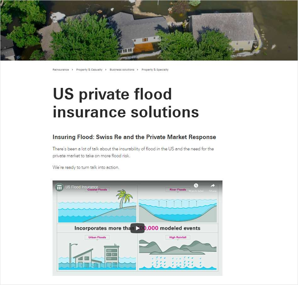 Toolkit: Private Flood Insurance Solutions