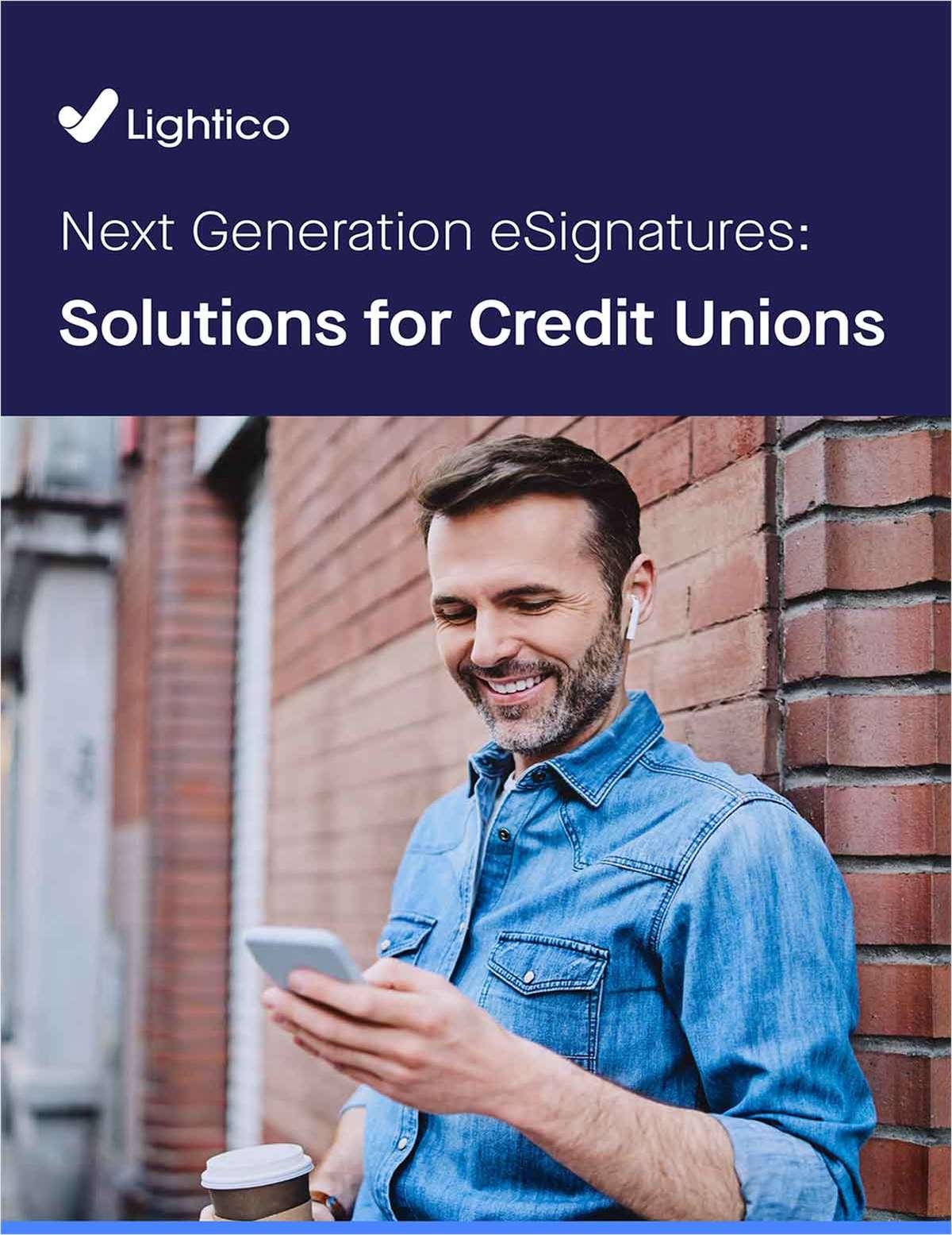 eGuide: Next-Generation eSignatures Solutions for Credit Unions