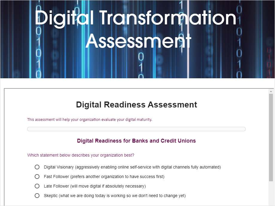 Assess Your CU's Digital Readiness
