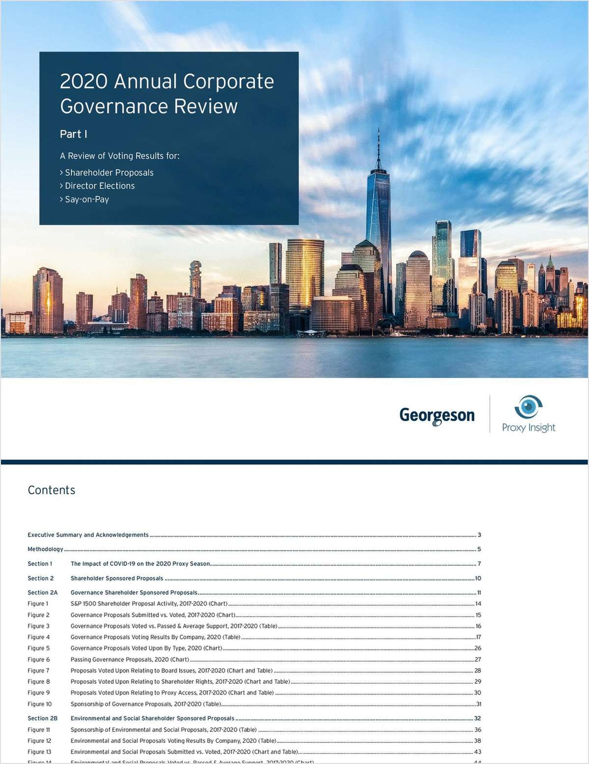 2020 Annual Corporate Governance Review