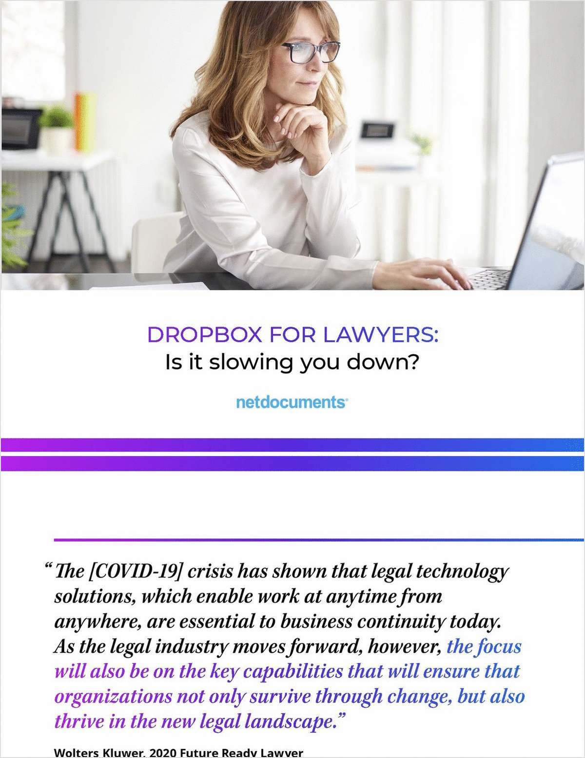 Dropbox for Lawyers: Is It Slowing You Down?